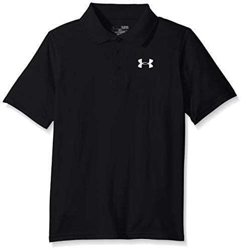 Armour T-shirt Kinder Under (Under Armour Jungen Golf - Polo und T-Shirt UA Matchplay, Black, S)