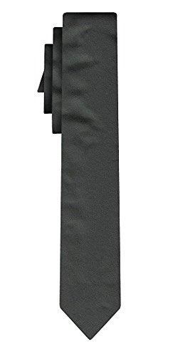 BOSS Seidenkrawatte solid grey