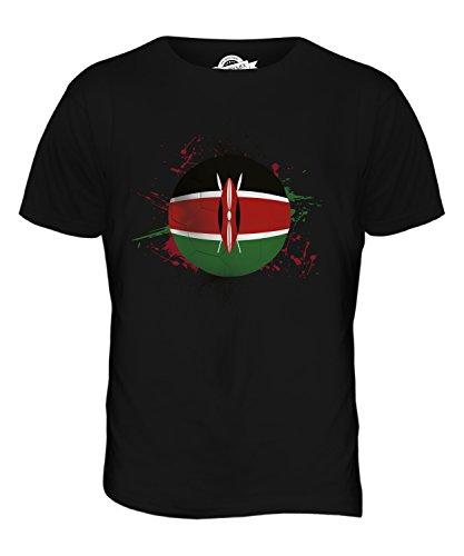 CandyMix Kenia Fußball Herren T Shirt Schwarz