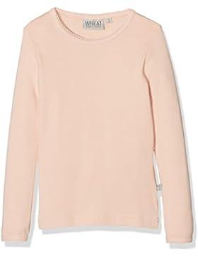 Wheat Mädchen Basic Langarmshirt