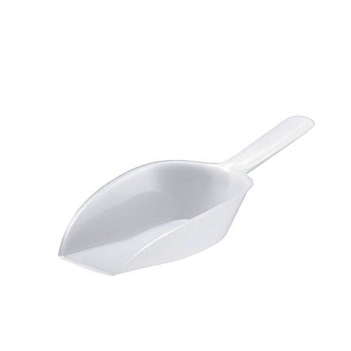 Westmark Abwiege-/Abfüll-/Futter-/Sackschaufel, Füllvolumen: 230 ml (ca. 250 g Mehl), Kunststoff, Weiß, 90932291