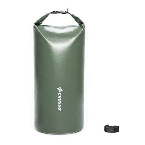 CROSSO CO1016 50L Transportbeutel wasserbeständig Fahrradtasche Gepäcktasche olivgrün
