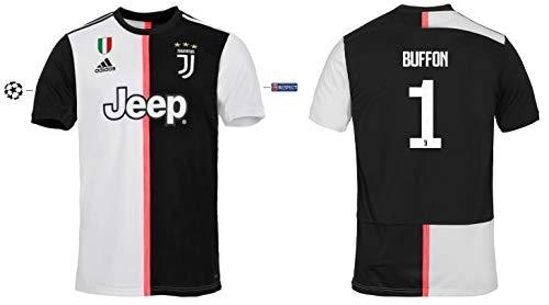 Juventus Turin Trikot Kinder 2019-2020 Home UCL - Buffon 1 (140)