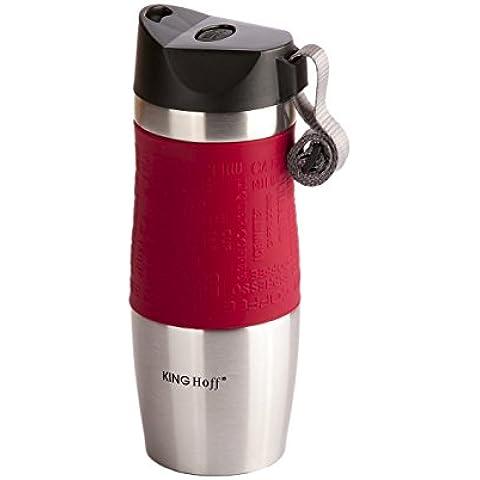 Thermos-Tazza da viaggio in acciaio INOX per tè, caffè, bevande