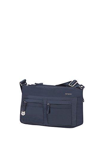 Samsonite Move 2.0 Horizon Shoulder Bag + Flap Bolso Bandolera, 3.94 Litros, Color Azul Oscuro