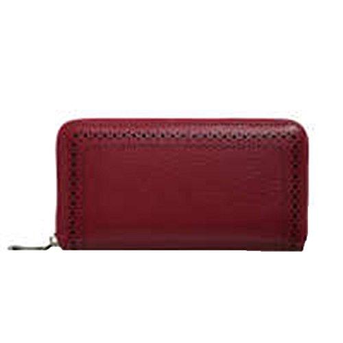 WU Zhi Lady In Pelle Pochette Portafogli Red