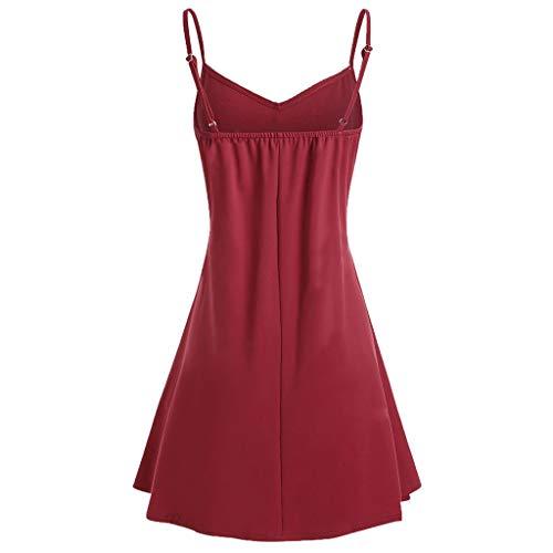 OIKAY Mode Femmes Slip Dress Robe Camisole sans Manches Bébé et Puériculture Vêtements Grossesse