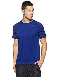 low priced 52749 47728 adidas D2M 3S Camiseta, Hombre, Tinta Misterio, XL