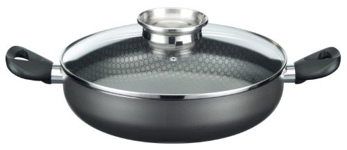 GSW 496247 Brat- und Servierpfanne mit Aromaglasdeckel, 24 cm