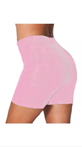 LADIES COTTON CYCLING STRETCHY SHORT ACTIVE CASUAL SPORTS WOMENS LEGGINGS 8-16 Test