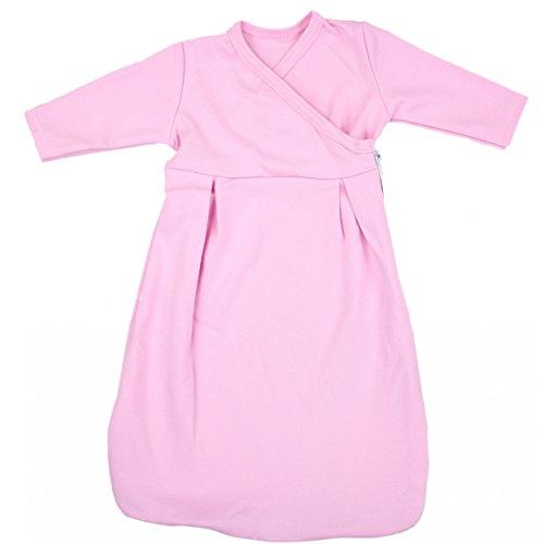TupTam Baby Unisex Innenschlafsack Langarm, Farbe: Pink, Größe: 62/68