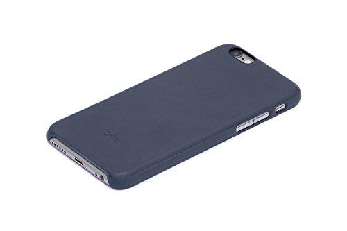 Bellroy iPhone 6s Phone Case aus Leder, Farbe: Black Blue Steel
