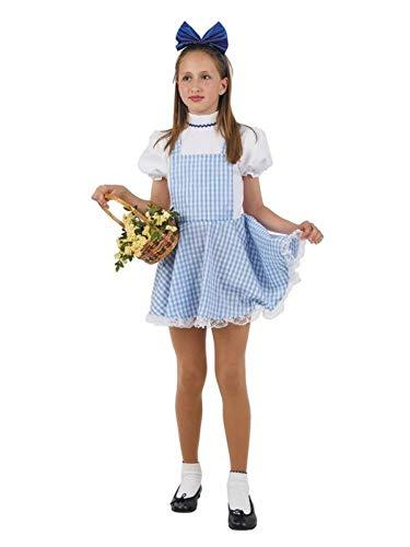 DISBACANAL Disfraz Dorothy niña - Único, 12 años