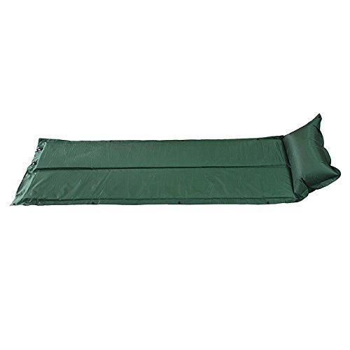 Stoga automatico Mat cuscino gonfiabile camuffamento Dormire Mat pelo Camping picinic materasso Pad autogonfiante-Piegato a metš€ verde