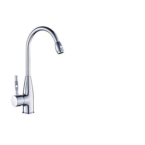 sdkir-wash lavandino cucina rubinetto girevole doppia temperatura rubinetto monoforo freddo rame T