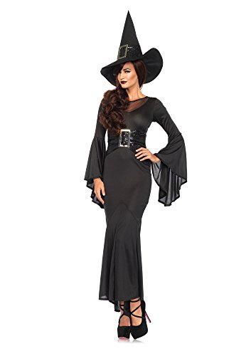 (Leg Avenue 85472 - Wickedly Sexy Witch Kostüm , Größe S/M  (EUR 36-38))