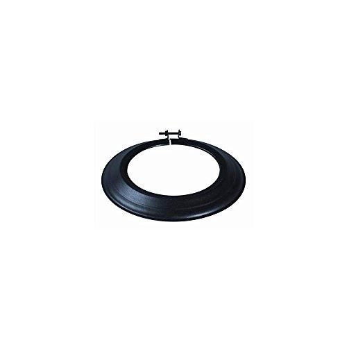 rosace-email-noir-mat-diametre-153mm-343746