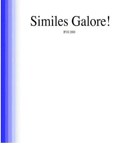 Similes Galore! 10,000 similes! (SimsPak Book 1) (English Edition) - Rv-bereich