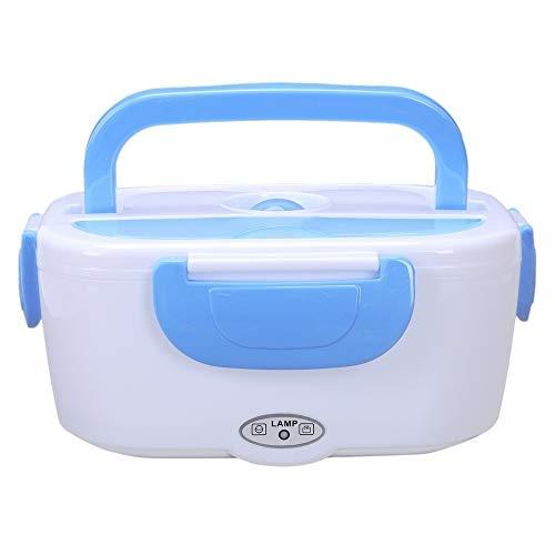 xikaiai Lonchera eléctrica portátil Preparación de Comidas de arroz Juegos de Calentadores de vajilla para niño Bento Travel Box/Office