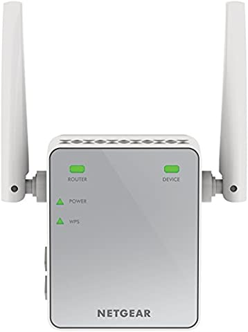 Netgear EX2700-100PES N300 WLAN Repeater (300 Mbit/s, 2,4 GHz, 1x