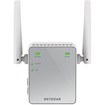 Netgear EX2700 Ripetitore WiFi, Range Extender Universale, Mini N300, Antenne Esterne, N Single Band, 300 Mbps