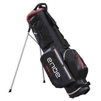 BIG MAX AQUA OCEAN Golf Standbag - 100% Wasserdicht Black/Red
