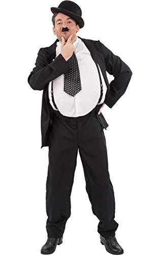 Herren Oliver Hardy Stan Laurel Film Karneval Verkleidung Kostüm Extra Large