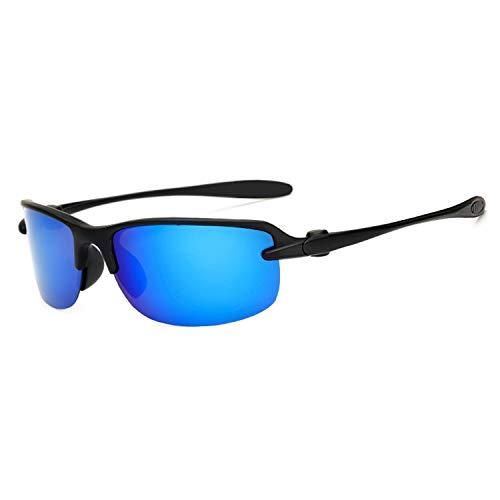 AOCCK Sonnenbrillen,Brillen, Sports Sunglasses Polarized Polaroid Fishing Sun Glasses Goggles UV400 Sports Men Women Sun Glasses For Men De Sol Feminino 1012 C3 Blue