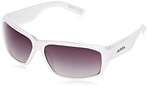 Alpina Sonnenbrille Casual A 61, white transparent, A8412410