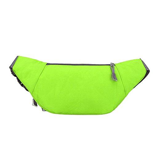 Multifunktionale Outdoor-Sport-Fitness-Taschen Mehrfarbig Green