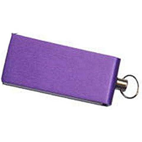 DAYAN Mini rotazione ciondolo Pen Drive Memory Stick U disco color viola 32GB - Rotazione Disco