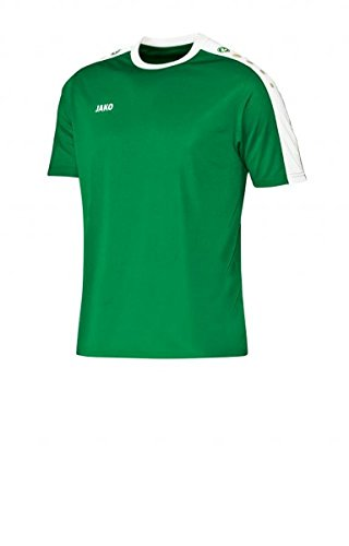 JAKO Trikot Striker Kurzarm, Größe:M, Farbe:sportgrün/weiß