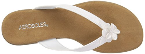 Aerosoles Branchlet Synthétique Tongs White Snake
