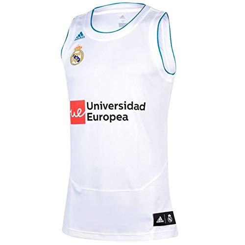 883110b2d adidas Real Madrid Fc Camiseta de Baloncesto Temporada 2017 2018