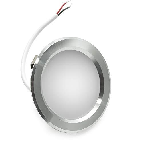 W Slim Einbau Loch 60mm matt Dunstabzugshaube Küche Regal IP20 220V Bianco naturale ()