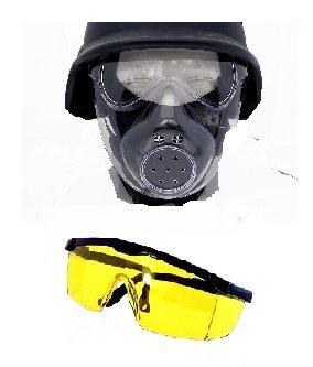 Angry Tactics! Sicherheits Set + Vollmaske + Profi Schutzbrille