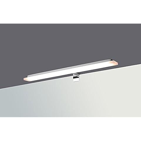 LED Plafoniera Lampada a morsetto lampada da bagno specchio lampada bianco caldo bianco neutro gerade - neutralweiss