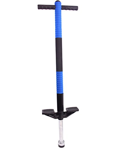 Dearbuy Sporting Goods Flight Pogo Flybar for Outdoor Fitness and Fun Jumping Trainers For Kids Blue