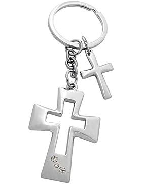 Kaltner Präsente Schlüsselanhänger mit Kreuz Anhänger