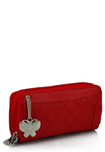 Butterflies Wallet (Red)(BNS 2089) at amazon