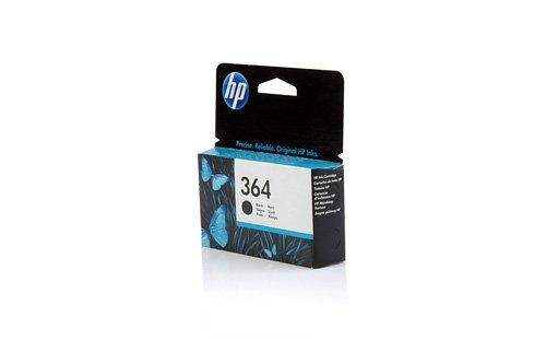 HP Original CB316EE / 364, für PhotoSmart Wireless e-All-in-One B 110 a Premium Drucker-Patrone, Schwarz, 250 Seiten, 6 ml (Ink Photosmart Hp C310)
