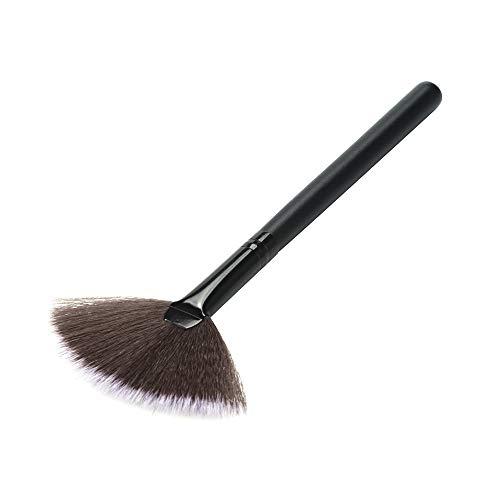 DaySing Brosse Pinceaux Maquillage, Outils Simples CosméTiques De Maquillage De Poudre De Maquillage De Poudre De Base en Bois De Maquillage Poils Synthetiques Doux Et sans Cruauté