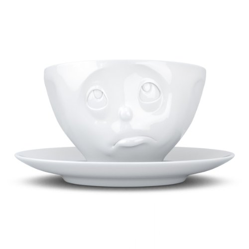 FIFTYEIGHT PRODUCTS FiftyEight T014401 Kaffee-Tasse Och Bitte Hartporzellan 200 ml, weiß