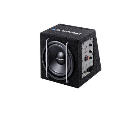 Blaupunkt Car 8 Inches 75/200 Watts Active Subwoofer System With Enclosure-GTB 8200 A