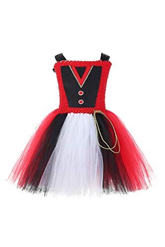 Ringmaster Halloween Kostüm - Mädchen Partykleid Ringmaster Cosplay Kostüm Halloween Stage Performance Tutu Kleid