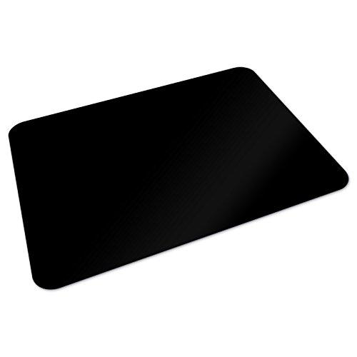 Stilvolle Home-office-möbel (Office Marshal® Bodenschutzmatte | 90 x 120 cm für Hartböden | ohne schädliche Weichmacher und PVC | Schwarz)