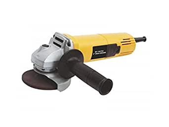 Generic DW801 Heavy Duty 850W 11000Rpm 100Mm Angle Grinder with Free Bosch Grinding and Cutting Wheel, Yellow