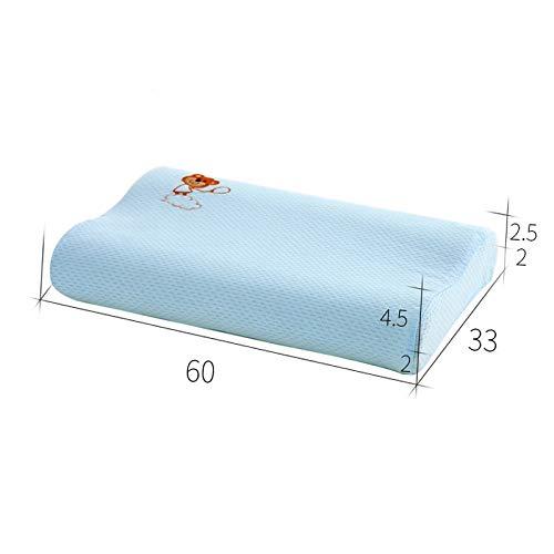 WDZTTBH Kopfkissen Kinder Kissen Memory Foam Baby Bett Kissen Adjustable Kinder Kissen Zum Schlafen 2775 - Kinder-foam-bett