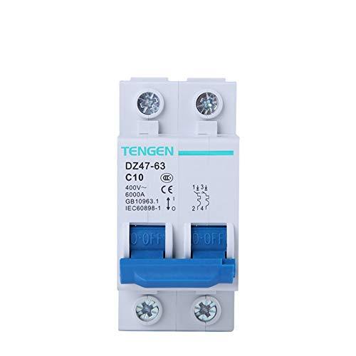OIASD Interruptor de Aire Interruptor en Miniatura Interruptor de Aire 2P C10A...