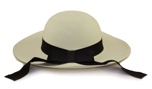 038373a6 Tumi Ladies Panama Hat - Cream with Black Band – Rollable/Foldable ...